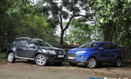 Renault Duster Ford EcoSport Comparo