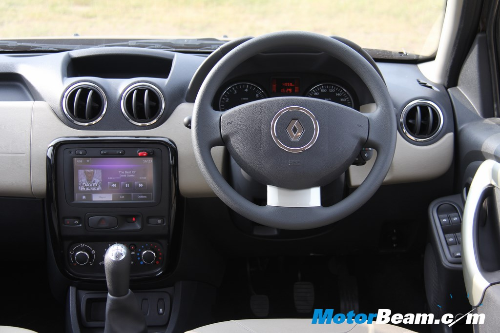 Renault Duster Interior Review