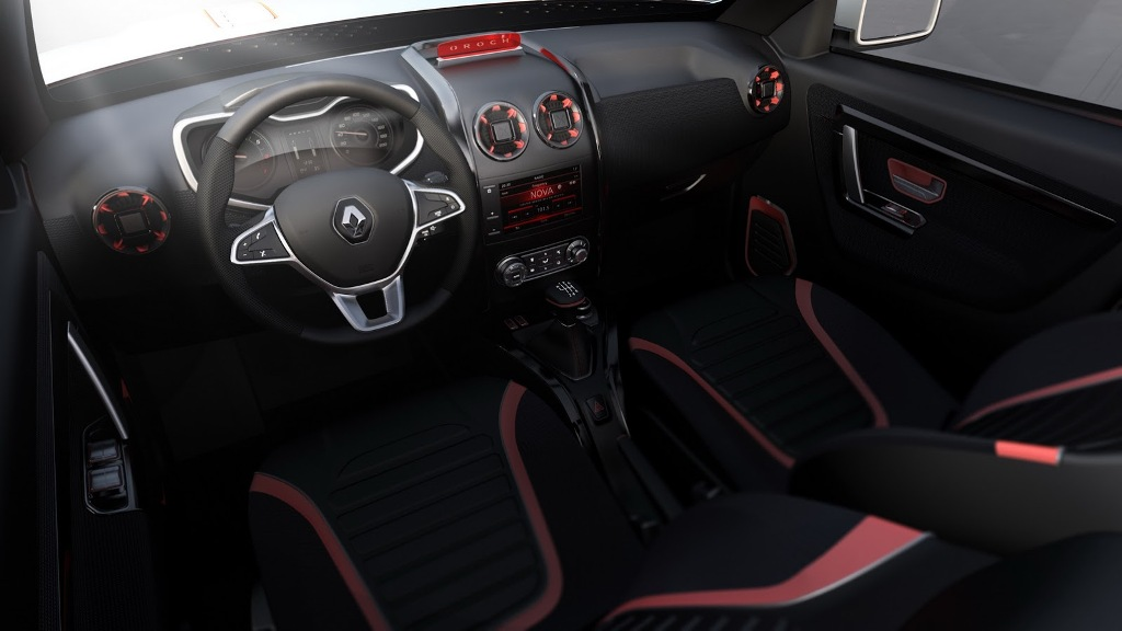 Renault Duster Oroch Concept Interior