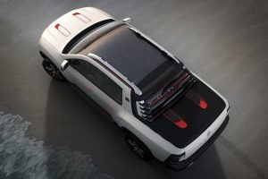 Renault Duster Oroch Concept Panoramic Sunroof