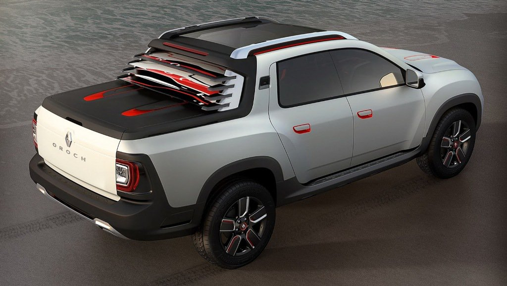 Renault Duster Oroch Concept Rear