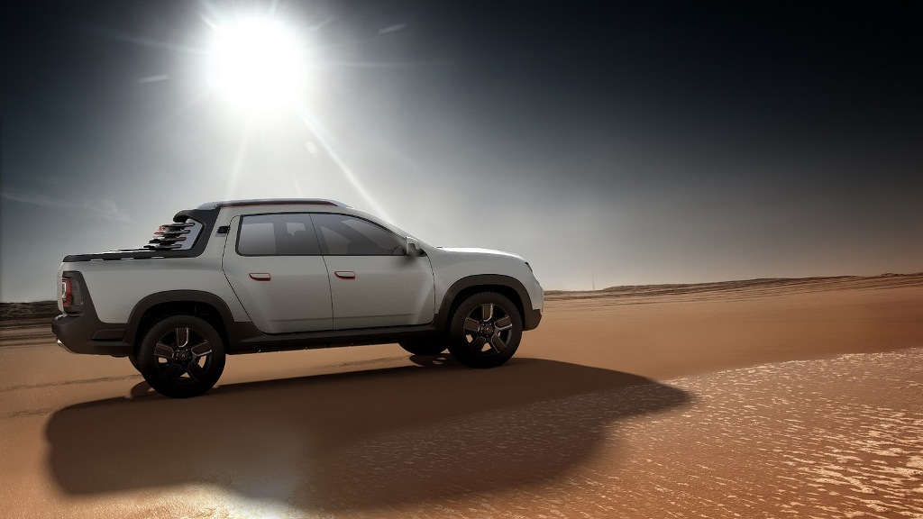 Renault Duster Oroch Concept Side