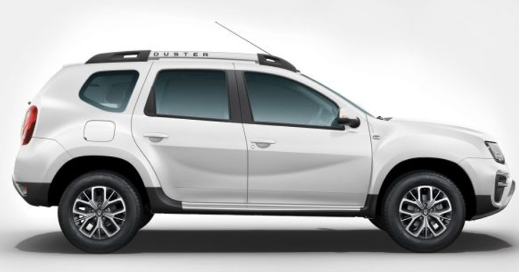 Renault Duster Pearl White