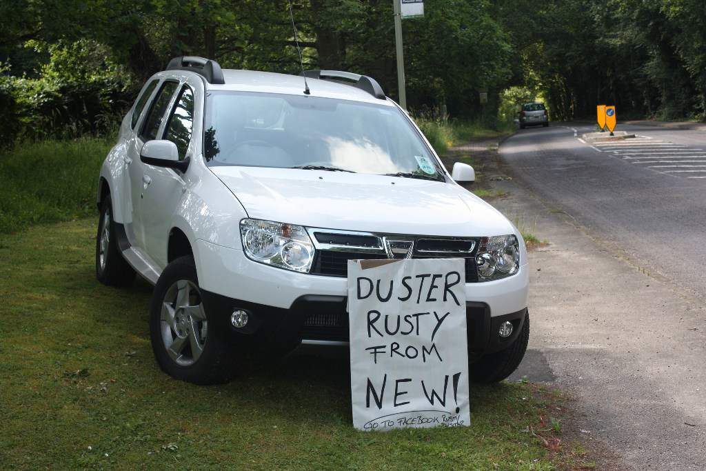 Renault Duster Rusting Issue UK