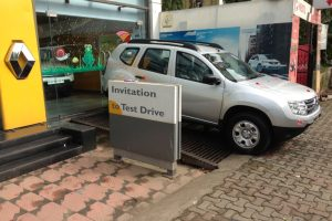 Renault Duster Test Drive Invite
