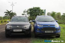 Renault Duster vs Ford EcoSport Road Test