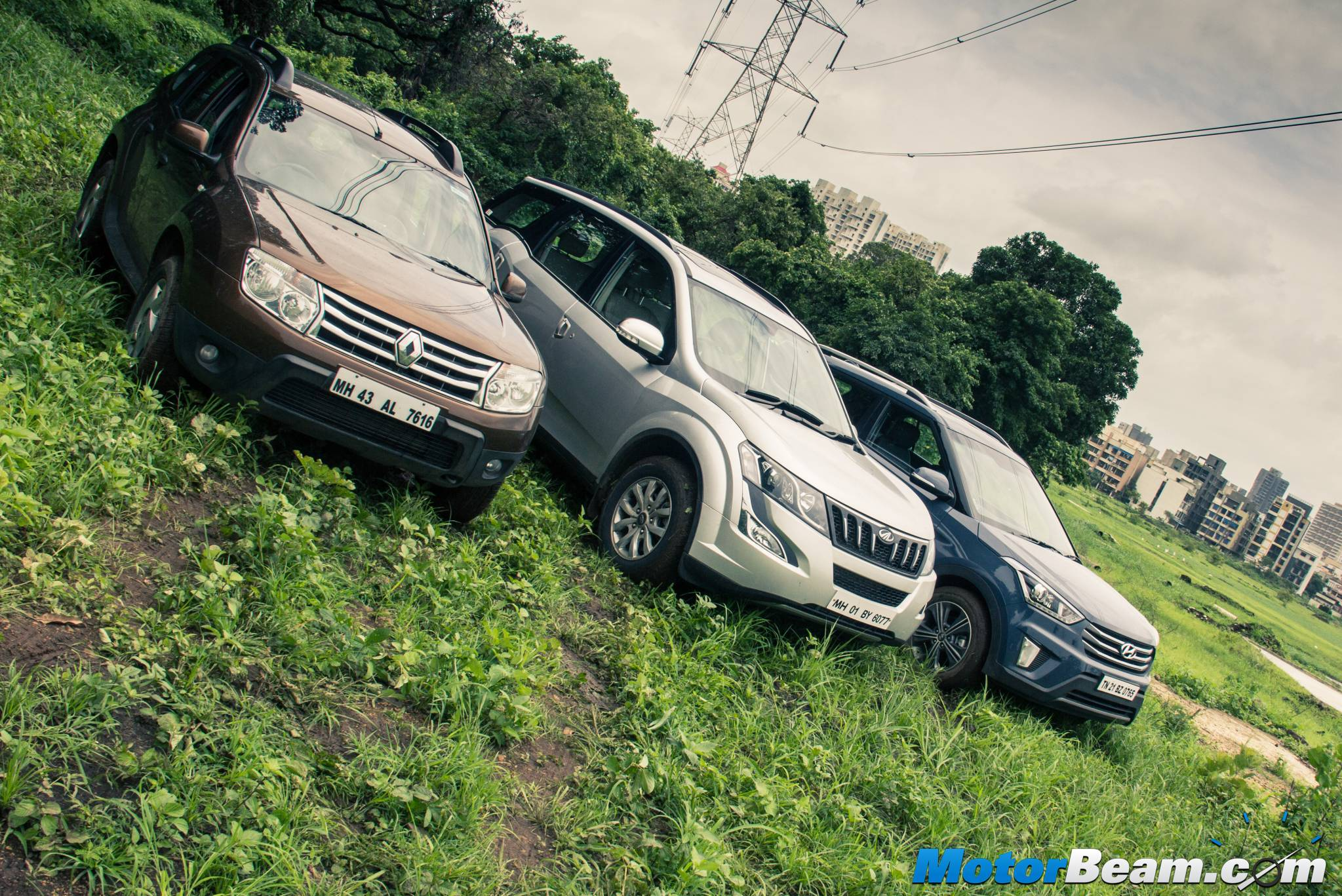 Renault Duster vs Hyundai Creta vs Mahindra XUV500 Review