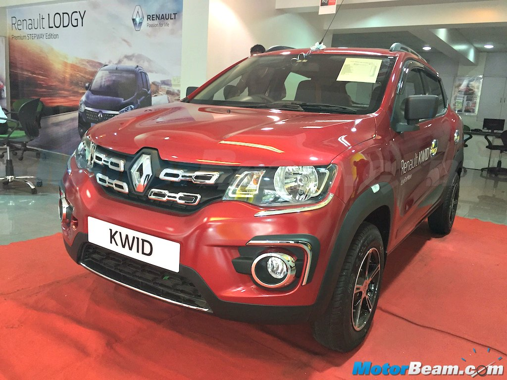 Renault Kwid Accessories Chrome Grille