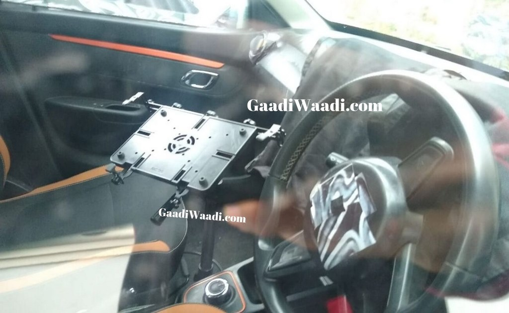 Renault Kwid Climber Facelift Interior Spied