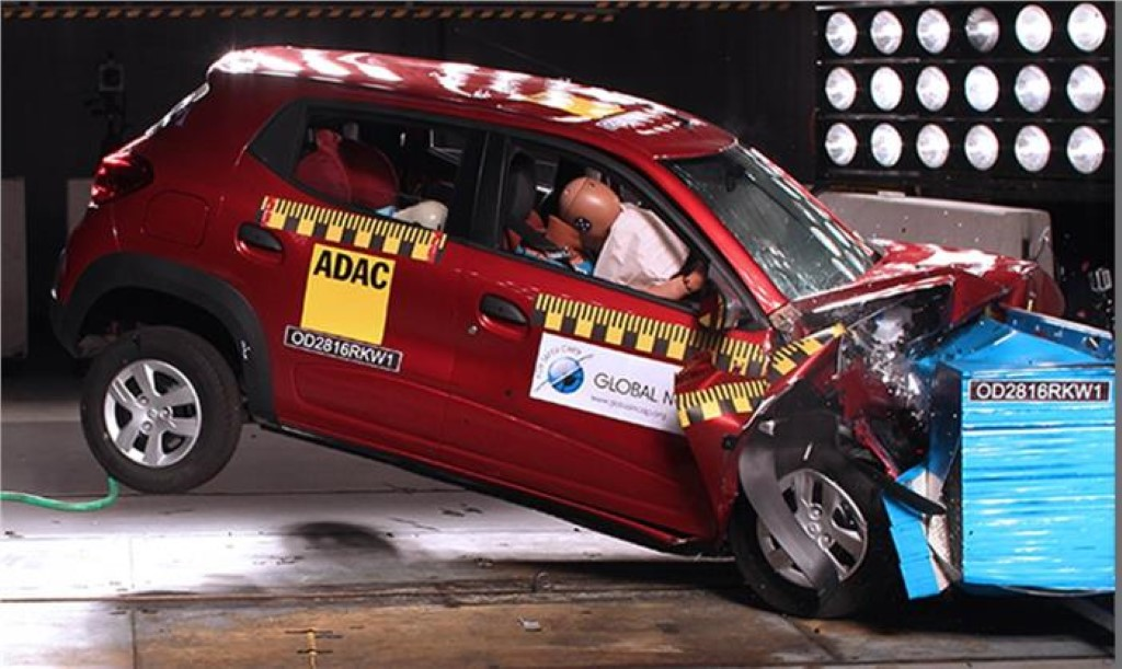 Renault Kwid Global NCAP Test