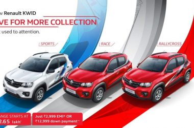 Renault Kwid Live For More Collection Launched, Gets Trendy Graphics