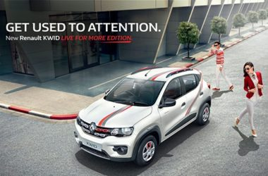 Renault Kwid Live For More Edition Priced At Rs. 2.93 Lakhs