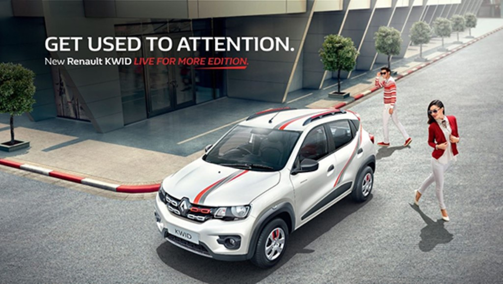 Renault Kwid Live For More Edition
