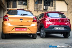 Renault Kwid vs Ford Figo
