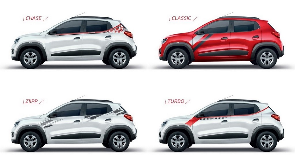 Renault Kwid Live For More Collection Launched Gets Trendy Graphics
