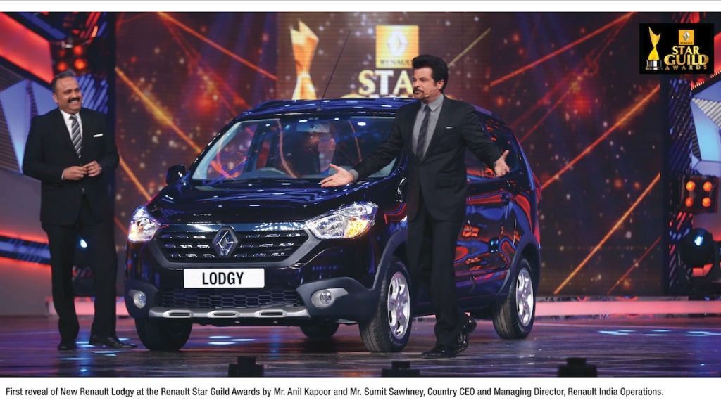 Renault Lodgy Stepway Coming To India, Showcased At An Event