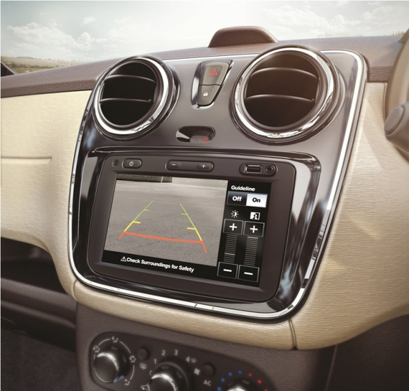 Renault Lodgy Stepway Centre Console