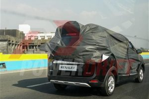 Renault Lodgy Test Mule Spied