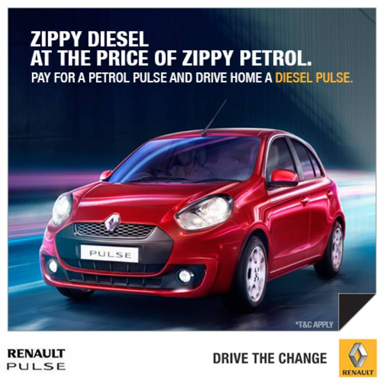 Renault Pulse Discount Offer