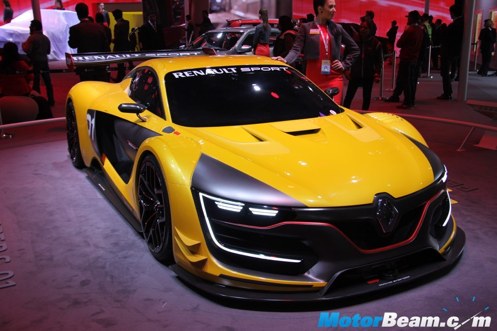 Renault RS01 Front