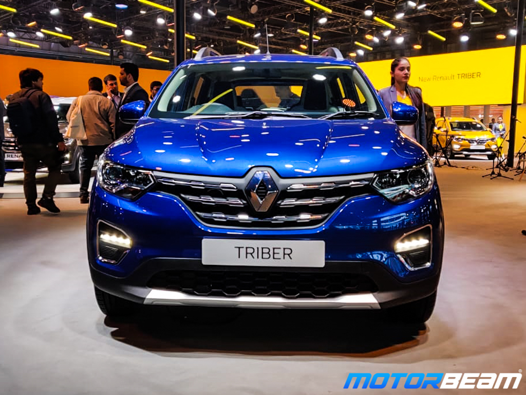 Renault Triber Amt Revealed At 2020 Auto Expo Motorbeam