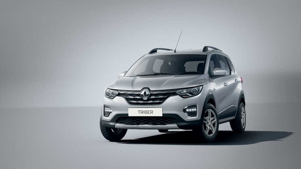 Renault Triber Moonlight Silver