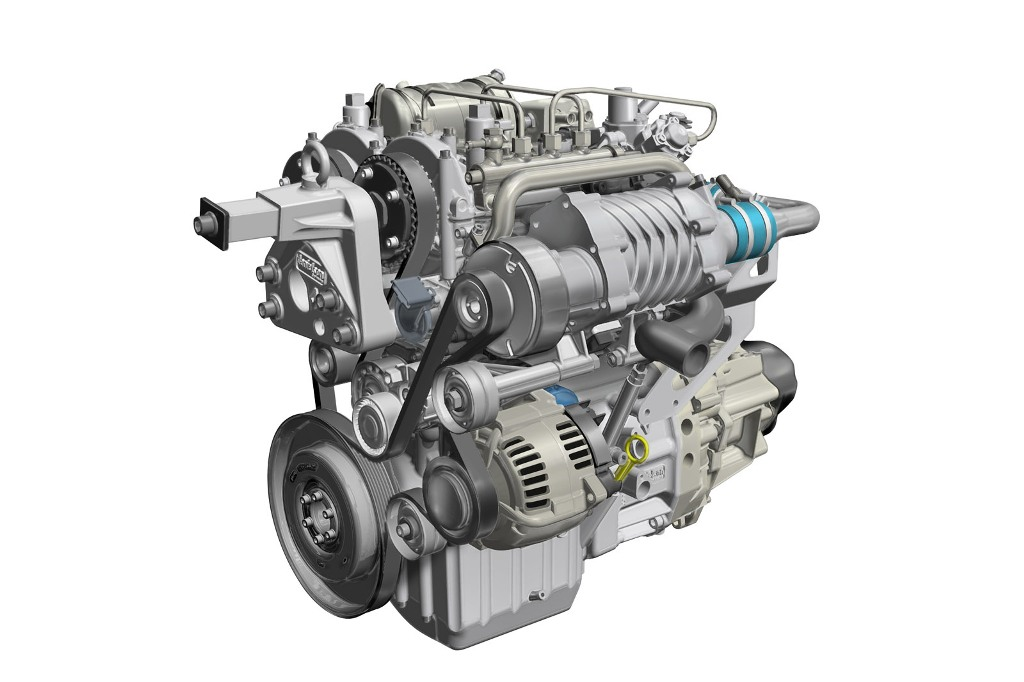 Renault Two Cylinder Diesel Engine Concept Study