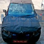 Renault XBA Front Spied