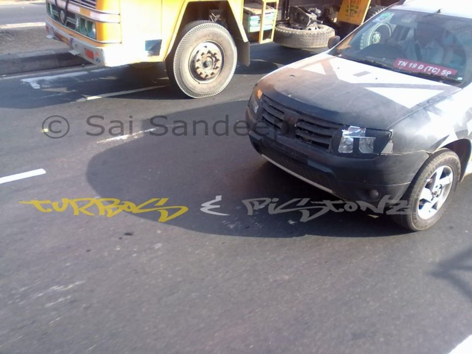 Renault Duster Spied Chennai