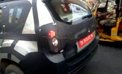 Renault Duster Spied India