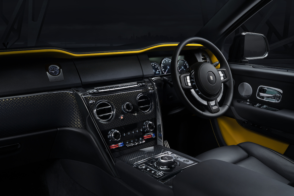 Rolls-Royce Cullinan Black Badge Interior