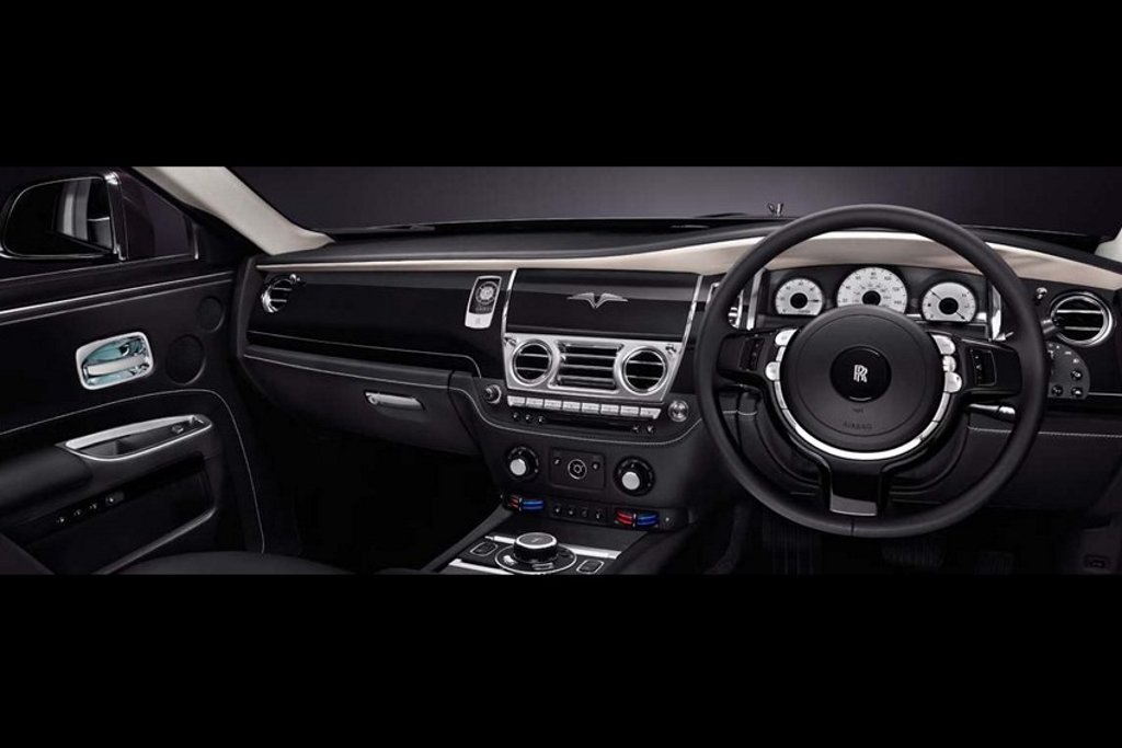 Rolls-Royce Ghost Limited Edition V Dash Layout