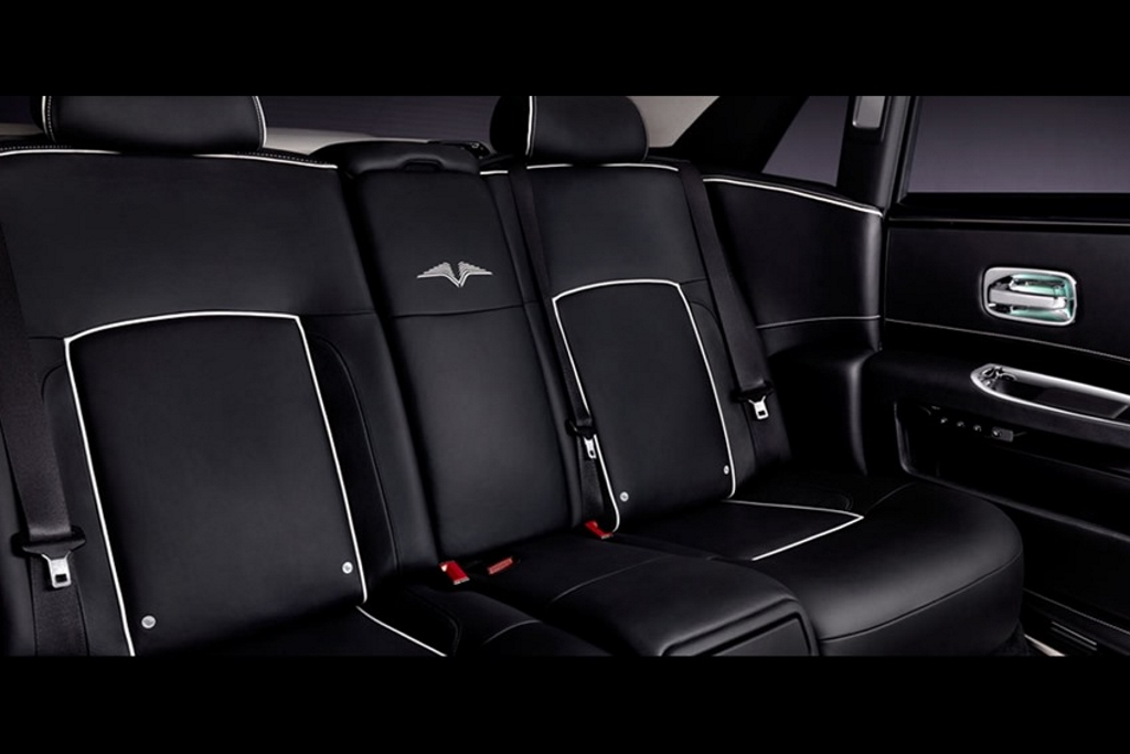 Rolls-Royce Ghost Limited Edition V Rear Seats