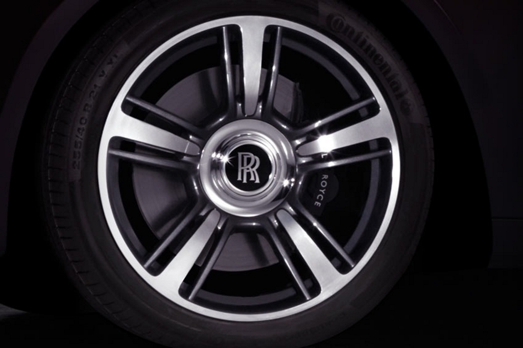 Rolls-Royce Ghost Limited Edition Wheels