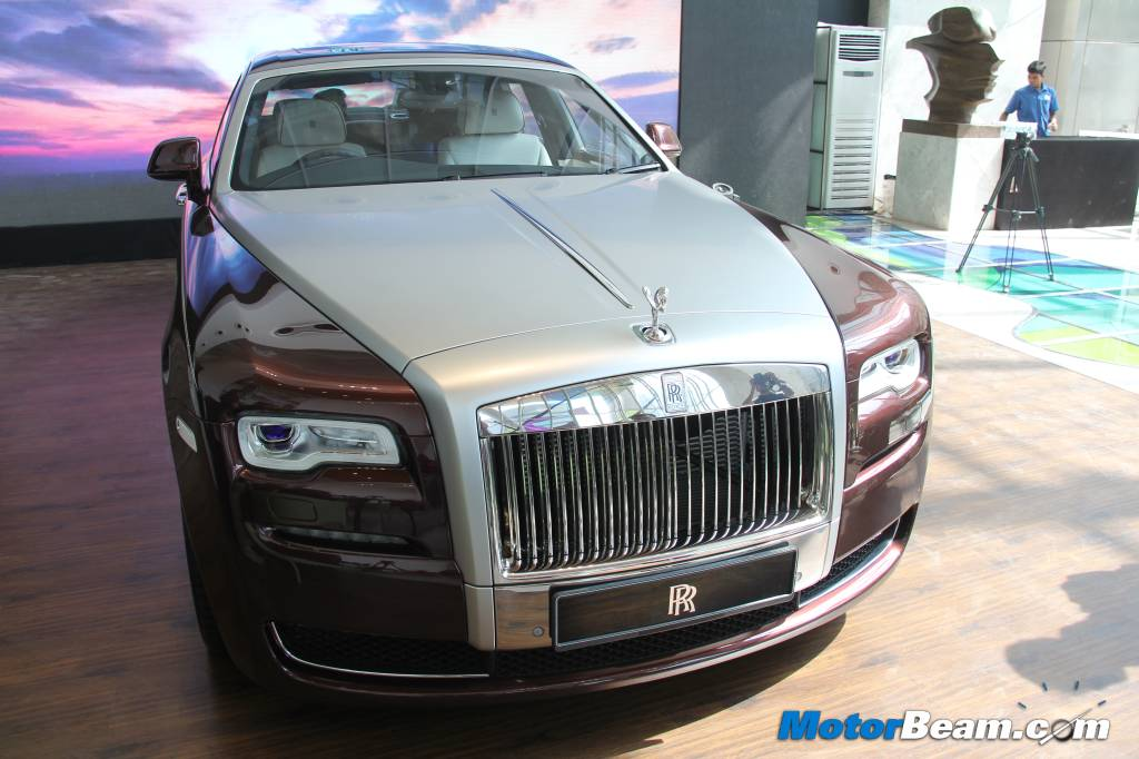 Rolls-Royce Ghost Series II India Price