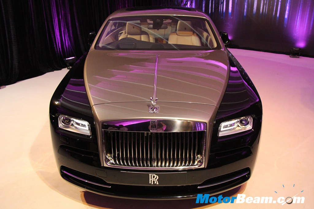 Rolls Royce Wraith Launch Front