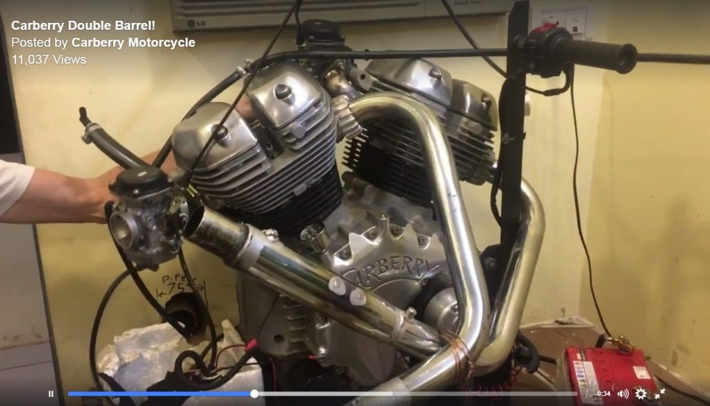 Royal Enfield 1000cc Carberry Engine