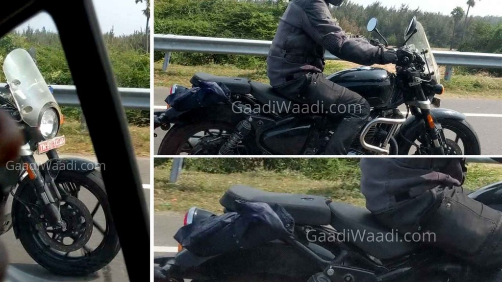 Royal Enfield 650cc Cruiser Spied