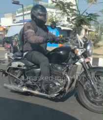Royal Enfield 650 Cruiser Spotted