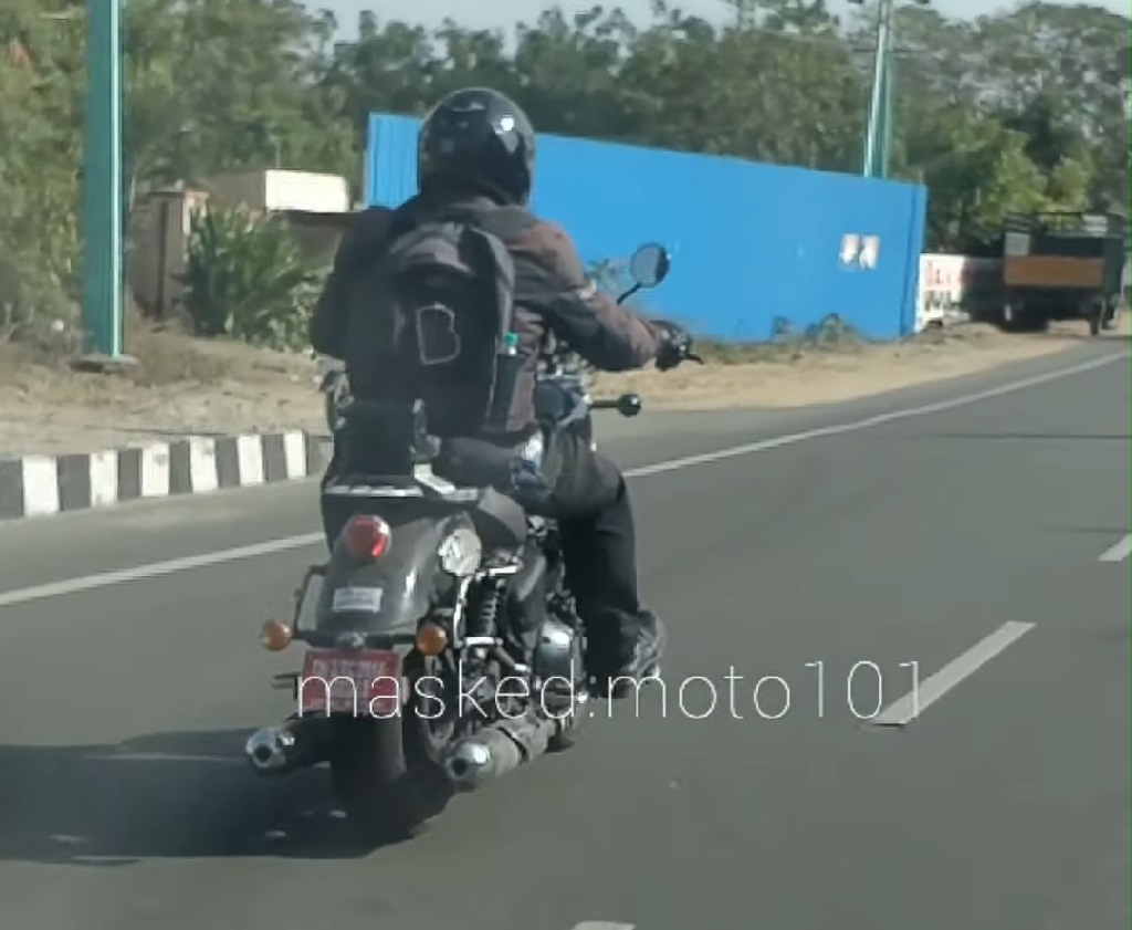 Royal Enfield 650 Cruiser Spotted Rear