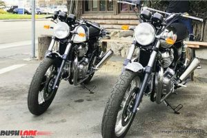 Royal Enfield 650 Duo Spotted US