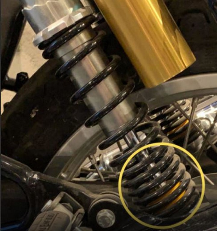 Royal Enfield 650 Twins New Rear Suspension