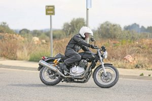 Royal Enfield 750 Side