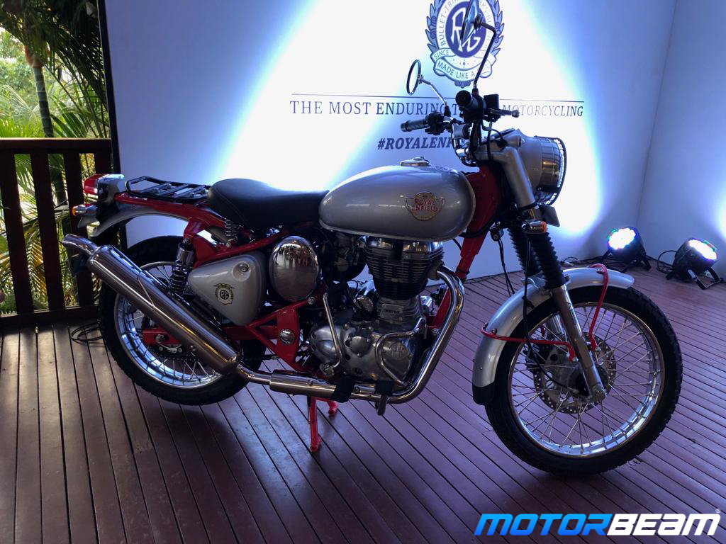 Royal Enfield Bullet Trials Launched