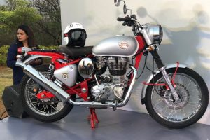 Royal Enfield Bullet Trials Red