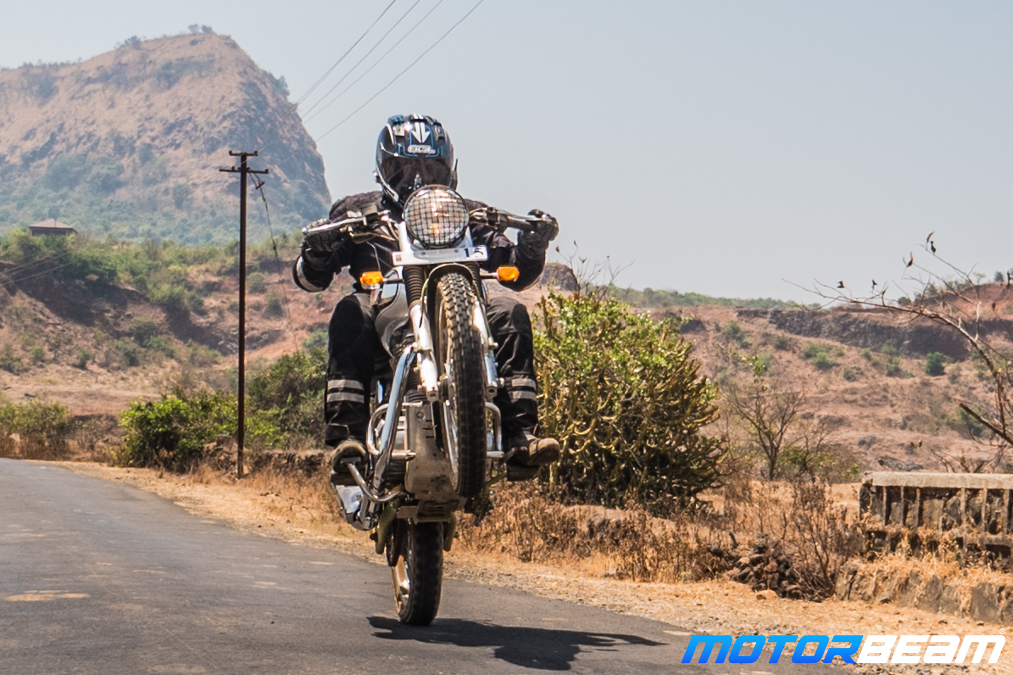 Royal Enfield Bullet Trials Test Ride Review