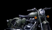 Royal Enfield Classic 500 Battle Green Front