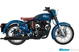 Royal Enfield Classic 500 Limited Edition Blue