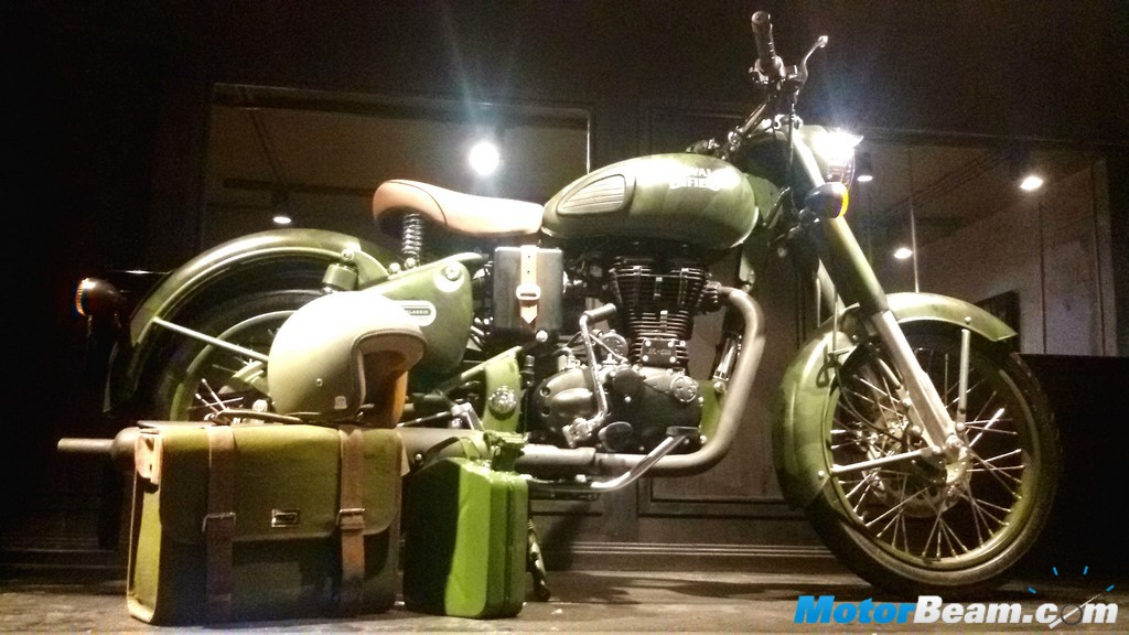 Royal Enfield Classic 500 Limited Edition Unveil
