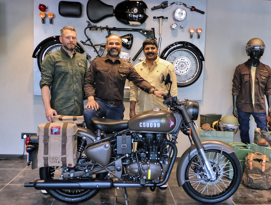 Royal Enfield Classic 500 Pegasus India